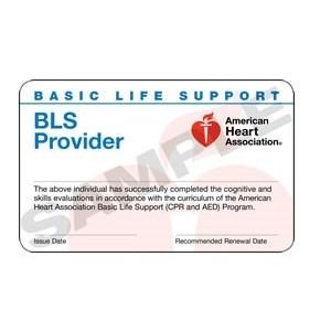 (15-1805-1) BLS Provider Card 2015